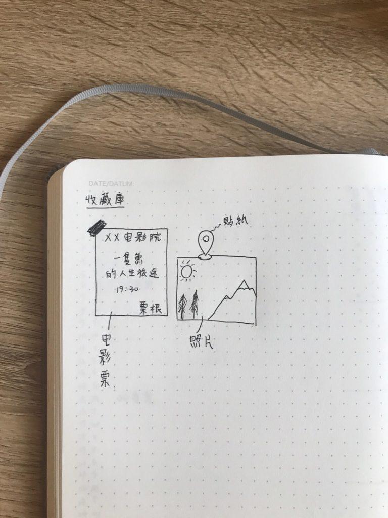手殘黨子彈筆記如何設計-收藏庫