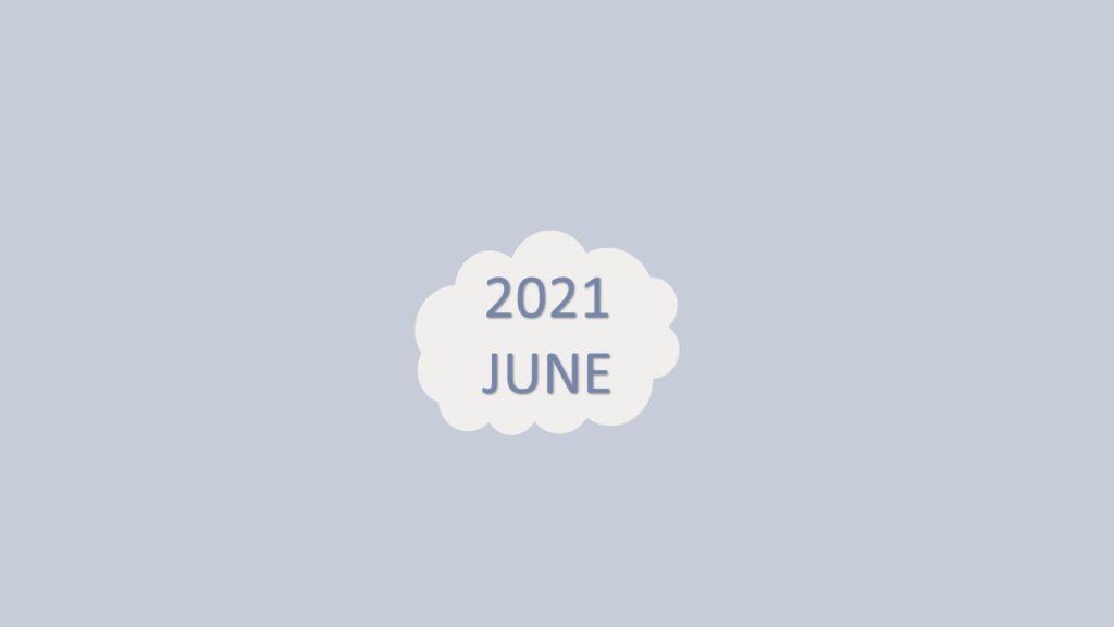 2021年6月子彈筆記設計-封面