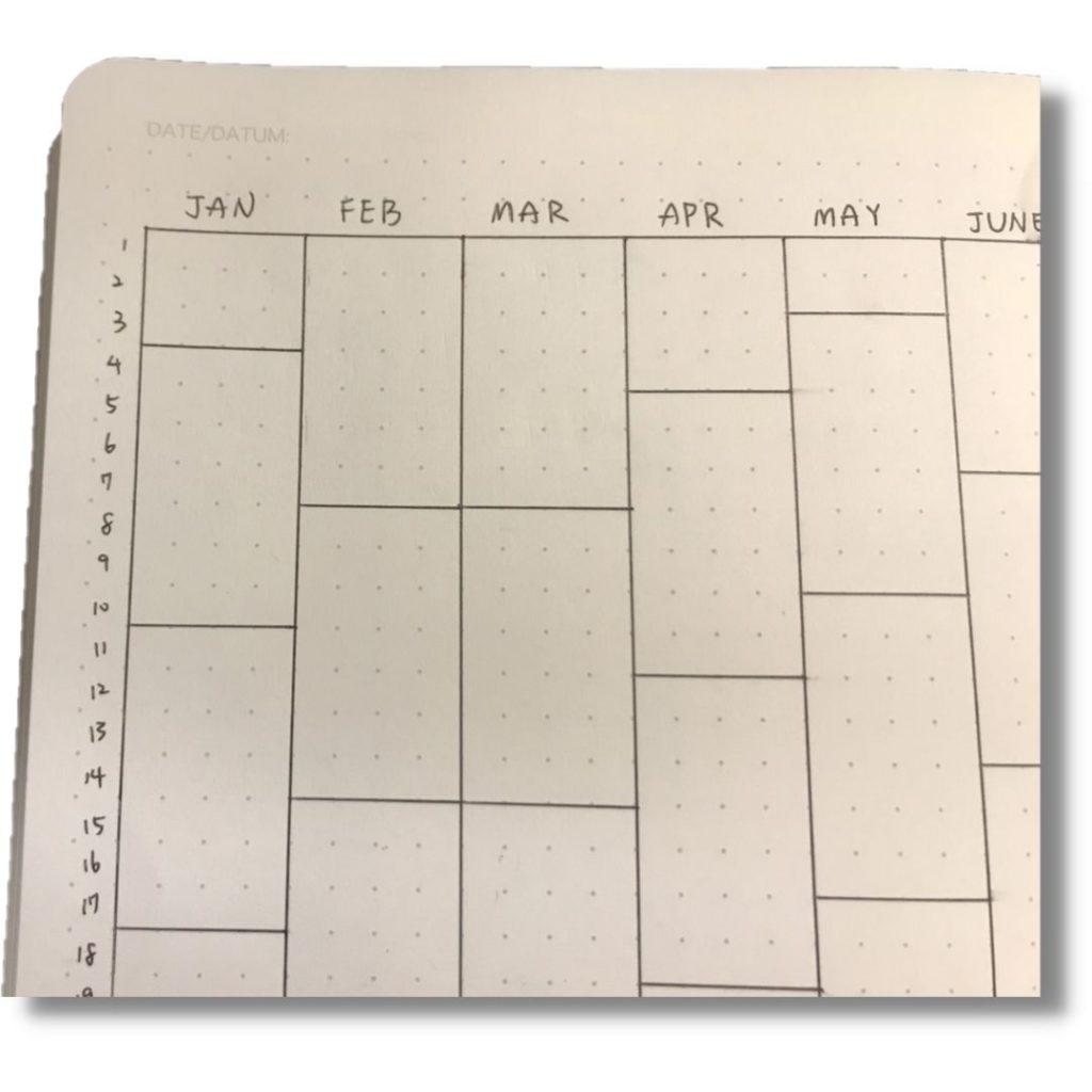 日曆索引calendex